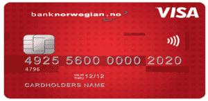 Bank Norwegianilta saat edullisen 1000 euron lainan ilman vakuuksia